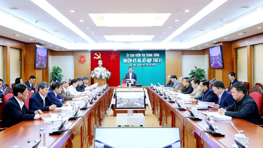 Kiểm tra khi có dấu hiệu vi phạm đối với Ban Thường vụ Đảng ủy Tổng Công ty Thép Việt Nam